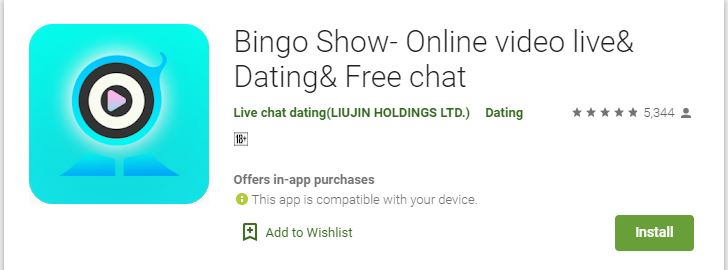 Bingo Show- Online video live& Dating& Free chat