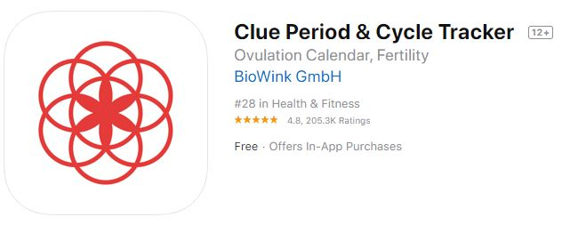 Clue Period & Cycle Tracker