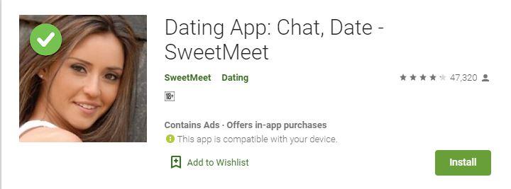 Dating App Chat, Date - SweetMeet