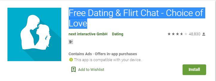 Kostenlose flirt und dating seiten