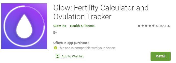 Glow Period, Fertility Tracker-Best Women's Health Tracking Apps