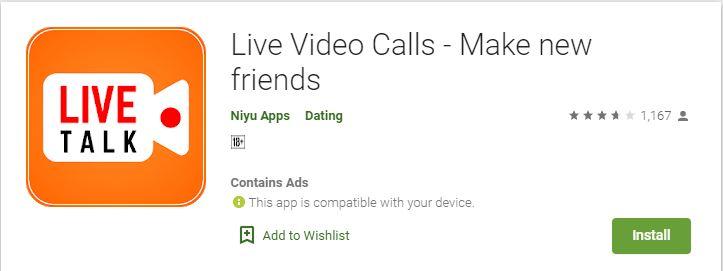 Live Video Calls - Make new friends