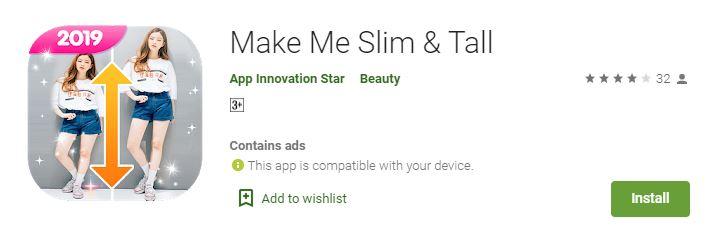Make Me Slim & Tall