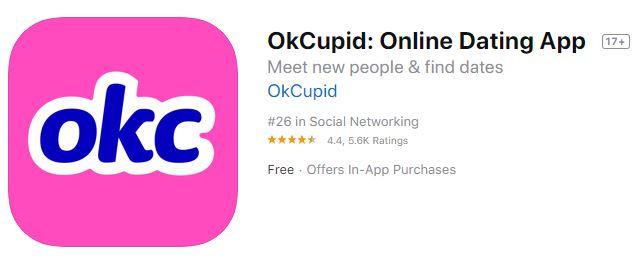 OkCupid Online Dating App