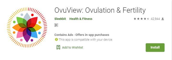 OvuView Ovulation & Fertility