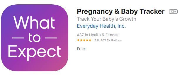 Pregnancy Tracker app-Best Women's Health Tracking Apps