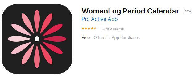 WomanLog Period Tracker & Calendar-Best Women's Health Tracking Apps