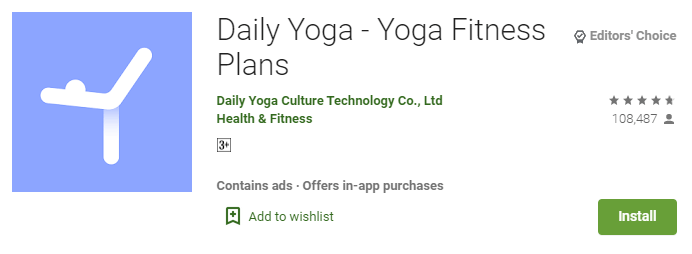 Daily Yoga - Yoga Fitness Plans