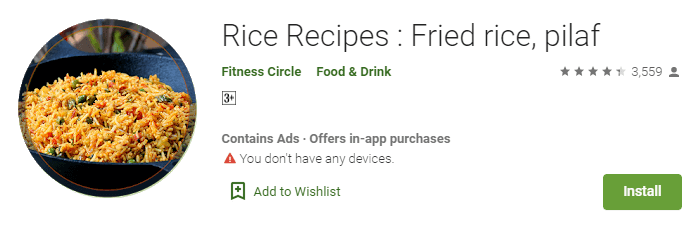 Rice Recipes - Fried rice, pilaf