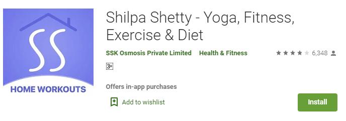 Shilpa Shetty - Yoga, Fitness, Exercise & Diet