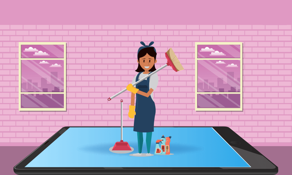 Home Cleaning Service Apps IOS