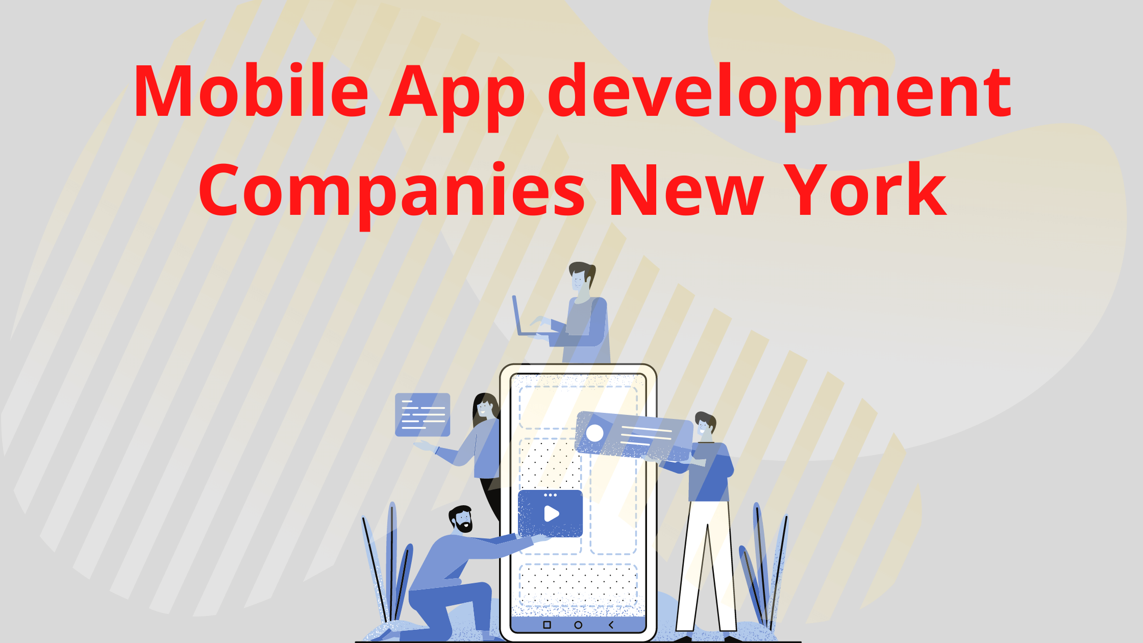 Mobile App development Companies in New York